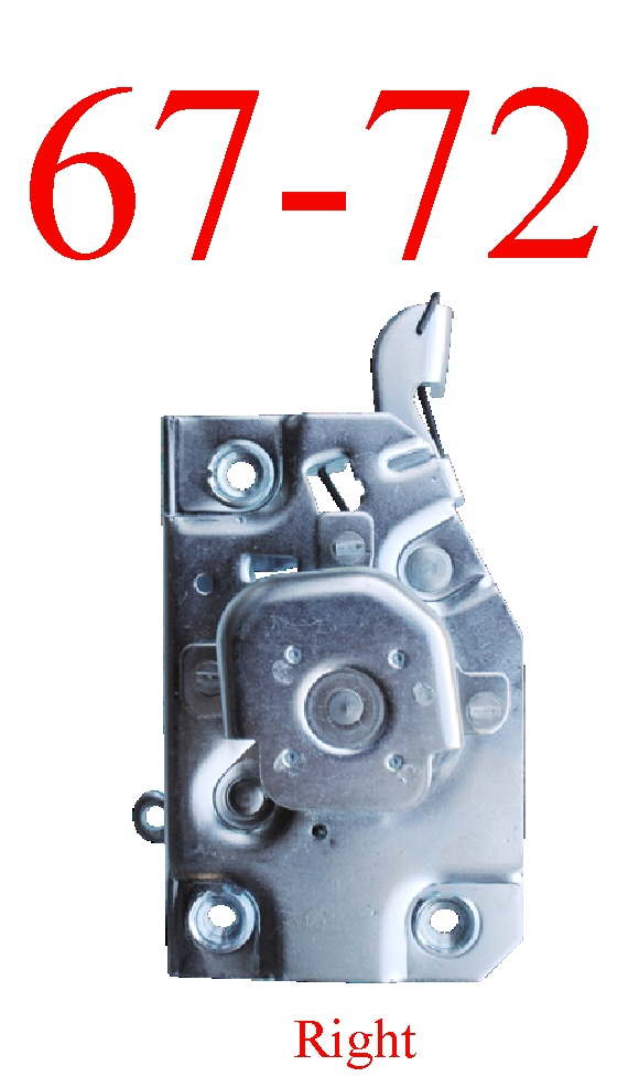 67-72 Chevy Right Door Latch Assembly
